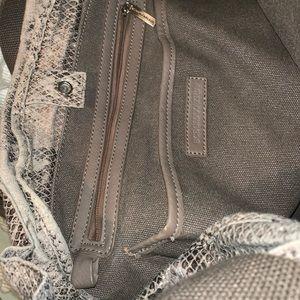 BCBGMaxAzria Bags - BCBG Max Azria snake skin bucket bag